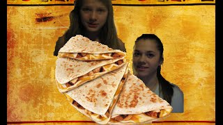 Chicken and cheese quesadilla How to make