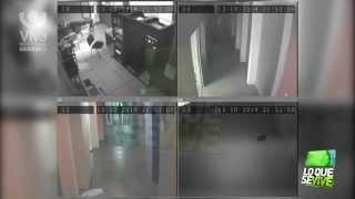 Imágenes del sismo de 7.4 en Nicaragua - 13/10/14