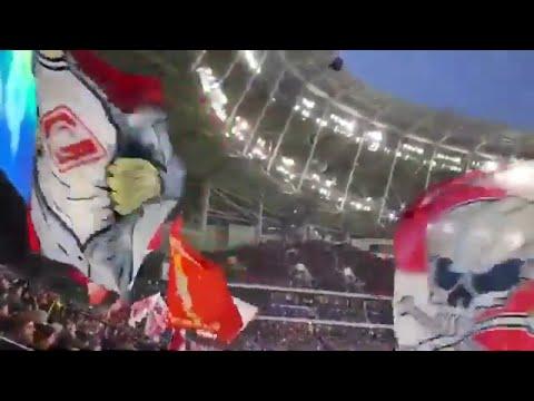 Динамо Спартак Драки фанатов на матче и после L Московское дерби РПЛ