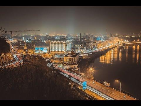 Kiev Timelapse 2015 / Таймлапс Киев / full HD