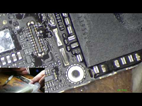 iPhone 5s No image, no touch after liquid damage