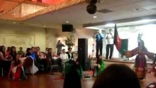 Afghan Girls Attan ANd Afghani dances