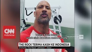 """The Rock"" : Terima Kasih Indonesia,  Film Jumanji No.1 di Indonesia"