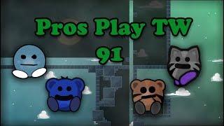 Teeworlds - Pros play TW 91: Ez !
