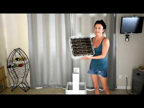 How to replace your Air filter IQ Air health pro plus