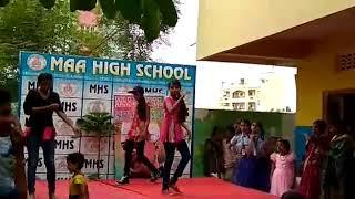 Akhila pavithra super dance(2)
