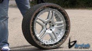#britek Airless tire for Autonomous cars?