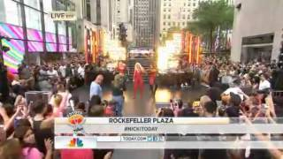 Nicki Minaj - I Am Your Leader and Beez In The Trap [Today Show]