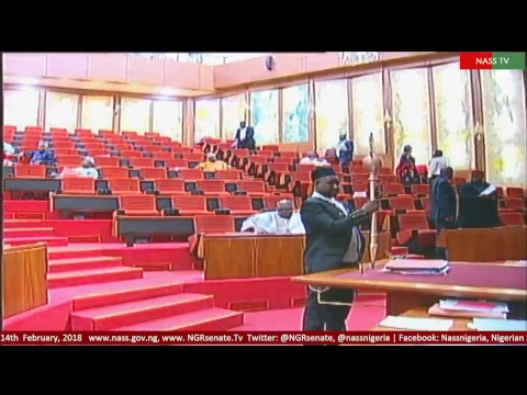 Senate Plenary, 14th Febuary, 2018