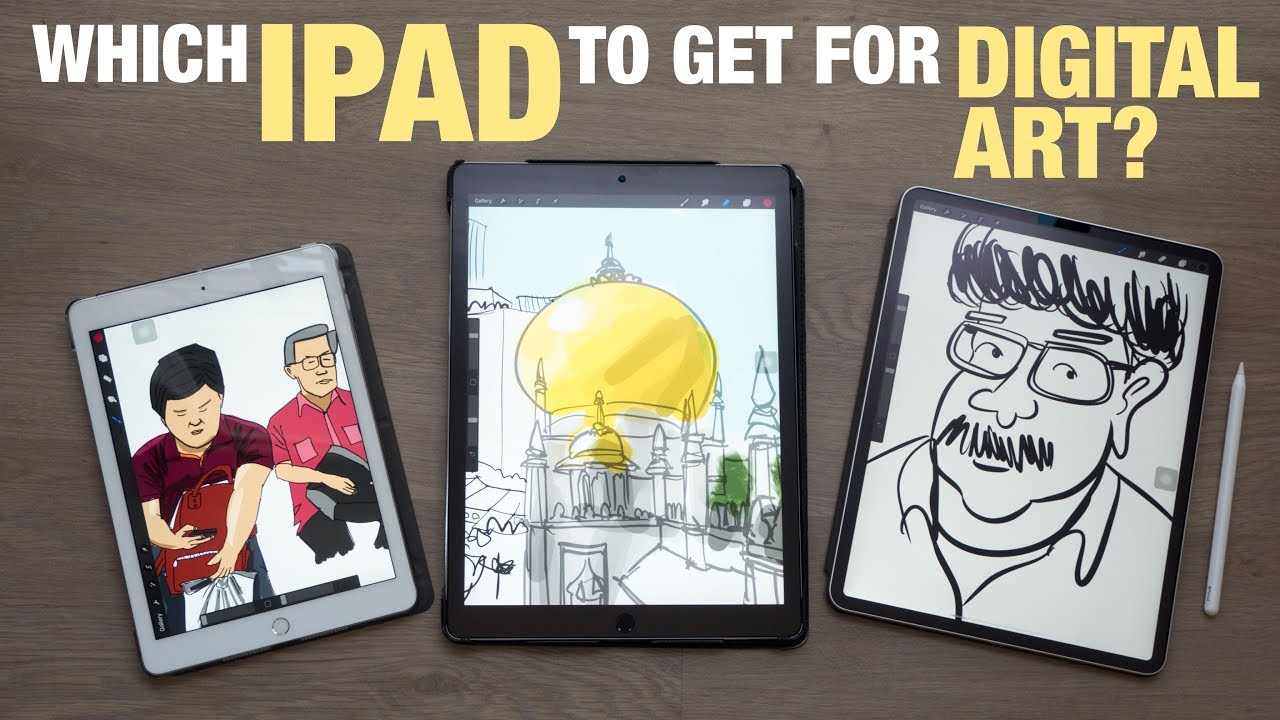 Best Ipad For Artists 2020 Which iPad to Get for Digital Art?   YouTube