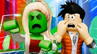 His Girlfriend Is A Zombie?! A Roblox Movie (Story)