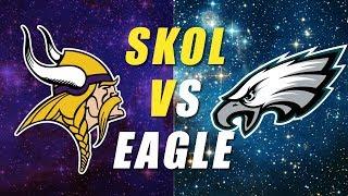 Minnesota Vikings vs Philadelphia Eagles NFC Championship