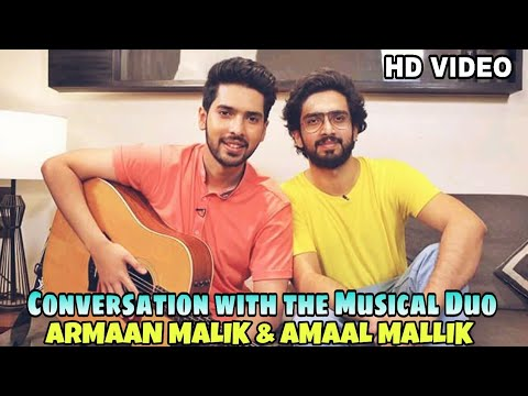 Armaan Malik & Amaal Mallik Live - Beautiful Conversation With The Musical Duo || 2018