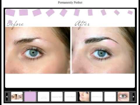 Eyebrow Tattoo Liverpool by Permanently Perfect - YouTube