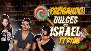 PROBANDO DULCES DE ISRAEL CON DebRyanShow | #VineVSTwitter