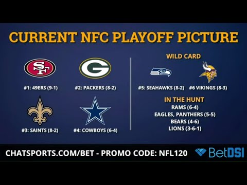 NFL Playoff Picture: AFC & NFC Standings, Wild Card Race & Matchups For Week 12 Of 2019 NFL Season