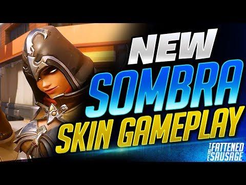 NEW SOMBRA SKIN Gameplay w/ GOLDEN GUNS ft. DanielFenner