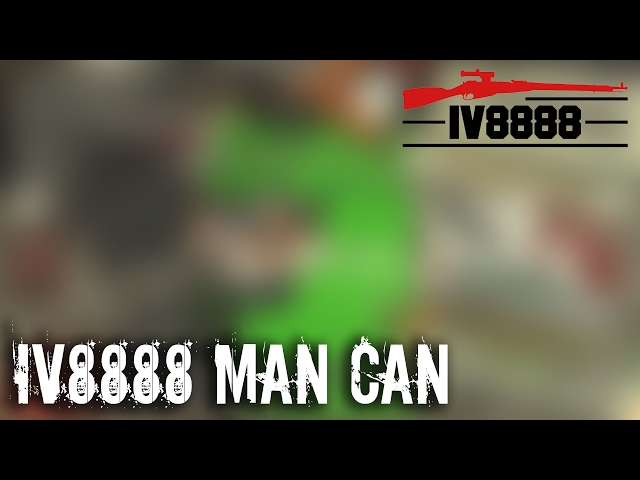 IV8888 Man Can February 2017 Unboxing