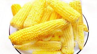 Как правильно приготовить кукурузу! Советы!