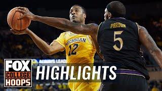 Michigan vs Northwestern | Highlights | FOX COLLEGE HOOPS