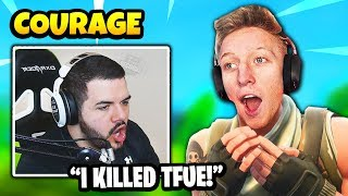 Courage KILLS TFUE With Default Skin In Ranked Mode | Fortnite Daily Funny Moments Ep.278