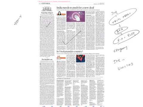 20 September 2017 The Hindu by La Excellence