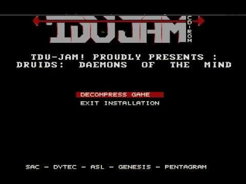 TDU_JAM Druids Cracktro