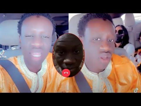 Ngor série Adja 1ére apparition en mode Relax après sa vidéo L*****f