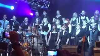 Tony Cetinski in Perpetuum Jazzile - Gospodarsko razstavišče Ljubljana 15.6.2013