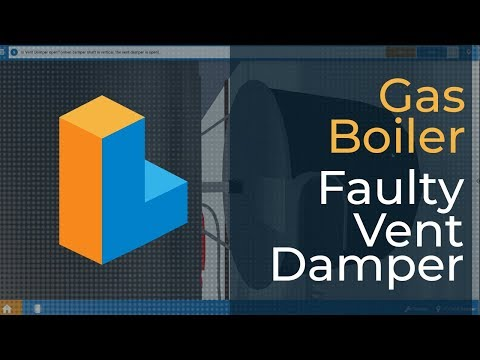 How to Troubleshoot a Faulty Vent Damper on a Gas Boiler Gas Boiler Vent Damper Wiring Diagrams on