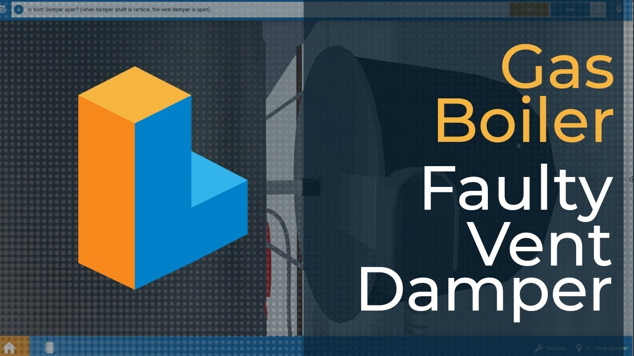 how to troubleshoot a faulty vent damper on a gas boiler
