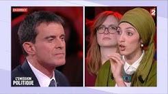 💥 Débat sur le port du voile entre Manuel Valls et Attika Trabelsi