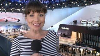 Mercedes-Benz reporter Torie visits the IAA 2013 in Frankfurt - Mercedes-Benz original