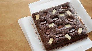 乗っけて焼いてそのまま可愛い♡ダースブラウニー   The Best DARS Chocolate Brownies