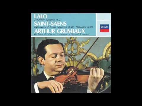 Saint-Saëns, Chausson, Ravel: Arthur Grumiaux Orchestre Des Concerts Lamoureux Manuel Rosenthal