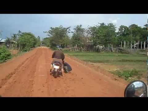 Road to my village, Ban Navangtai, Laos. -1