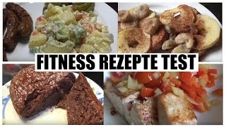FITNESS REZEPTE - WHAT I EAT IN A DAY FAIL | THCao