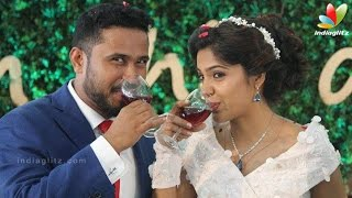 Actress Archana Kavi Abish Mathew Wedding | Marriage Reception