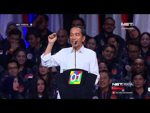 Jokowi Sindir Prabowo, Terkait Konsesi Lahan - NET YOGYA