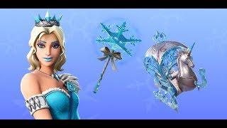 Fortnite new skins. Glimmer,princess skin - New emote unwrapped