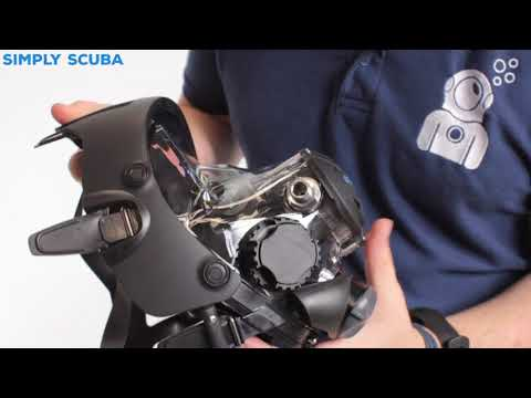 OceanReef Space Extender Integrated Dive Mask - Www.simplyscuba.com