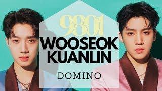 Wooseok - domino (3d / concert echo + bass boosted) '9801'