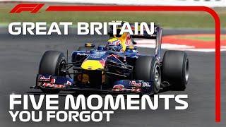 5 Moments You Forgot | British Grand Prix