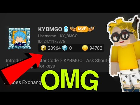Power of 30k Gcube 😎 in blockman go (BlockmanGo) - AND Purchasing VIP in Skyblock (Skyblock)