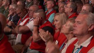 James P. Hoffa addresses the Teamsters 29th International Convention