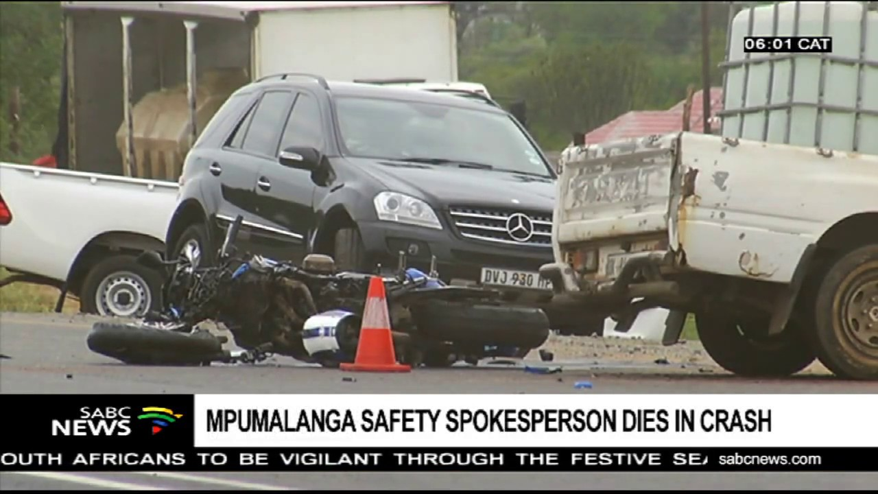 Mpumalanga Safety spokesperson dies in crash