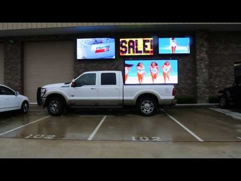 LED Message Signs in Houston TX | LED Display Signs in Houston TX