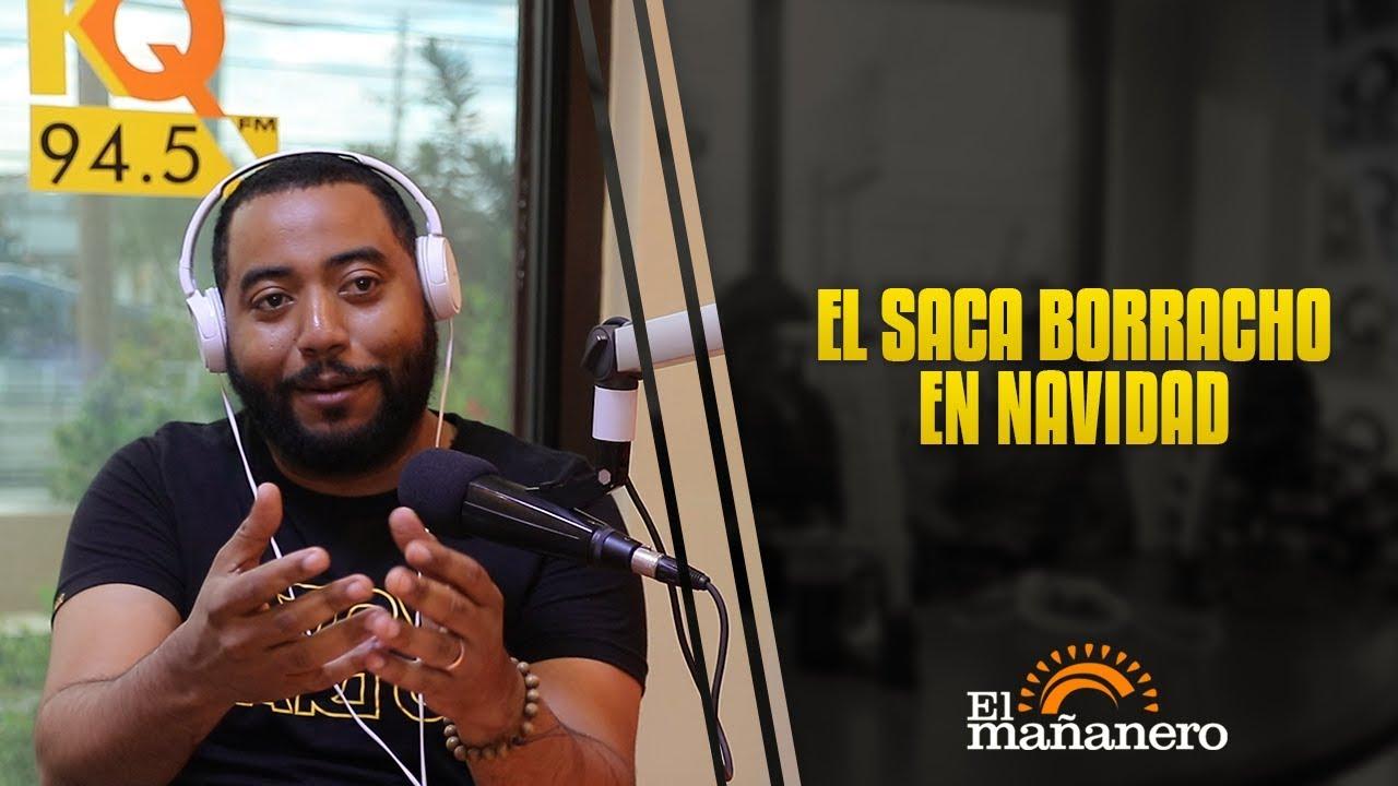 Ariel Santana - El Saca Borracho a propósito en  navidad