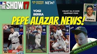 Pepe Alazar News! 99 Albert Pujols! 99 Chipper Jones! MLB The Show 17 Diamond Dynasty