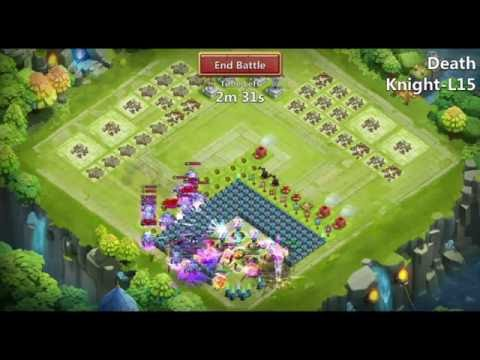 Castle Clash - Death Knight Destroyed !!!!!!